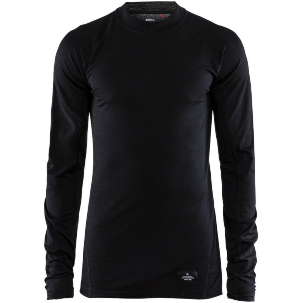ТермоФутболка для походов Craft Merino Lightweight CN LS Man