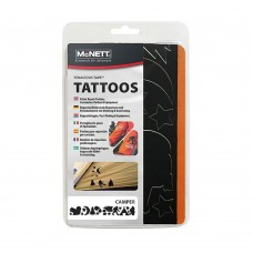 Набір латок McNett Tenacious Repair Tape Tattoos Camper