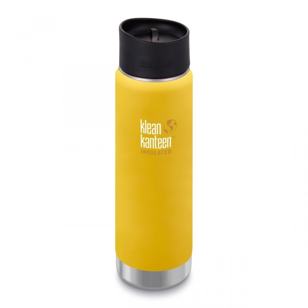 Термофляга Klean Kanteen Wide Vacuum Insulated 592 мл Lemon Curry